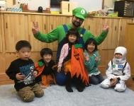 kids halloween class pic